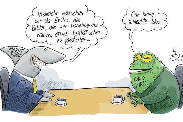 Gelingt die Annäherung zwischen FDP und Grünen?