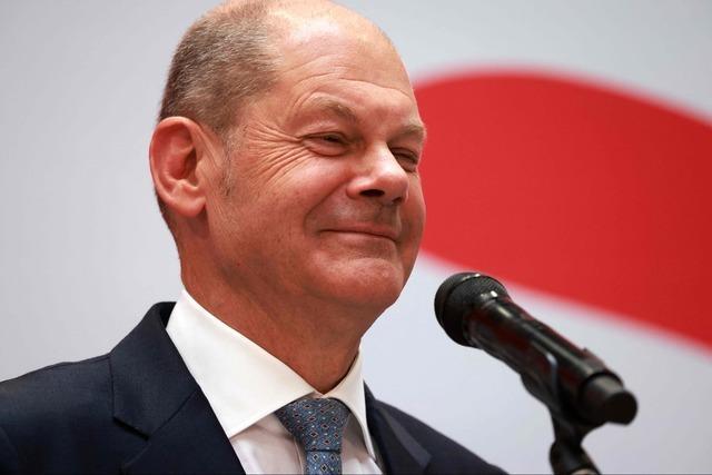 62 Prozent der Deutschen wollen Olaf Scholz als Kanzler