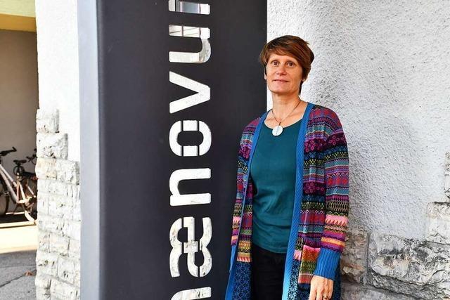 Kirsten Lohrmann löst Helga Martin beim Phaenovum ab