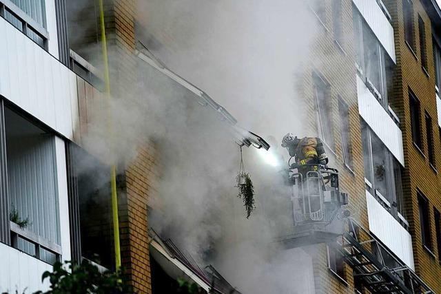 Verletzte bei Explosion und Brand in schwedischem Wohnhaus