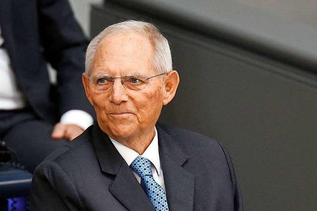 Wolfgang Schäuble wird ein ganz normaler Abgeordneter