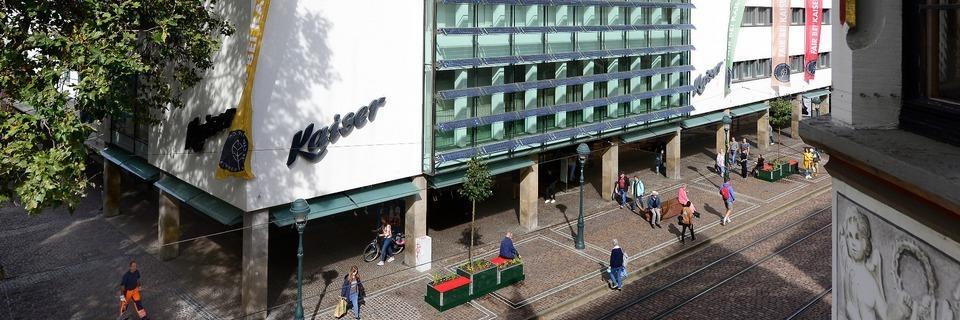 Traditionsunternehmen Kaiser schließt Modehäuser in der Freiburger Innenstadt