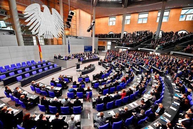 Der neue Bundestag ist etwas weiblicher