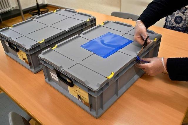 Rätsel um verschollene Briefwahl-Pakete in Freiburg ist noch ungelöst