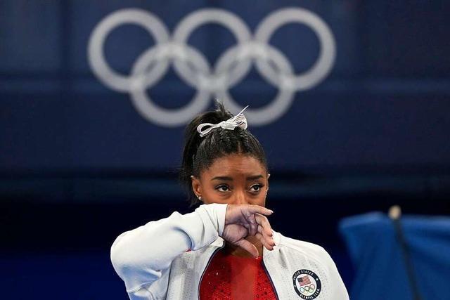 US-Turnerin Simone Biles bezeichnet Olympia-Start als Fehler