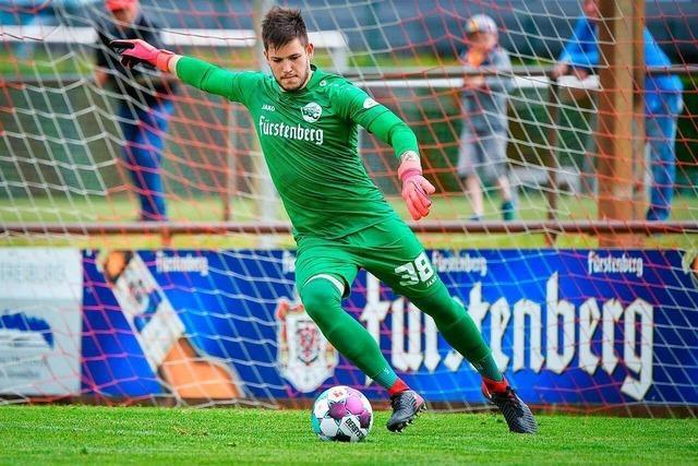 Serie des Bahlinger SC reißt beim FC Homburg in der Nachspielzeit