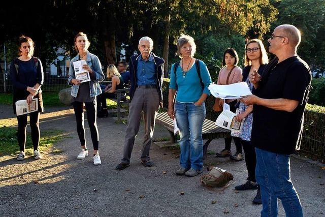 Ein Rundgang zeigt, was der Klimawandel für Freiburg bedeutet