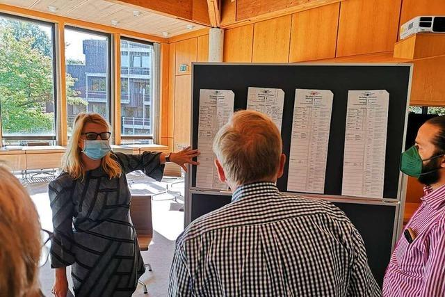 Der Kreiswahlausschuss diskutiert die Gültigkeit von nur elf Stimmzetteln