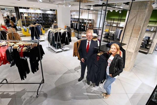 Das Freiburger Modehaus Kaiser schließt seinen Millionen-Umbau ab