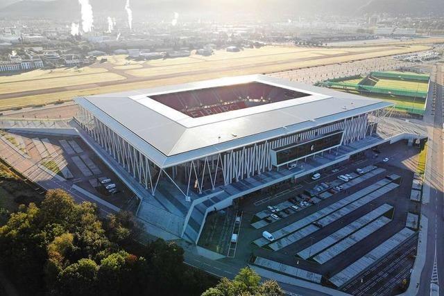 Video: Drohne gibt faszinierende Einblicke in das neue SC-Stadion