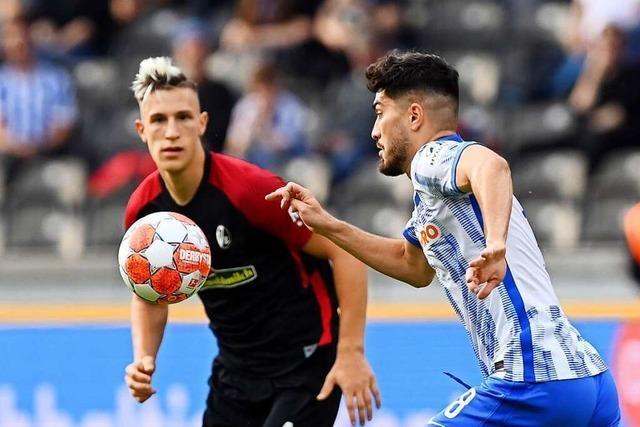 SC Freiburg tritt in Berlin gegen Hertha BSC als Einheit auf
