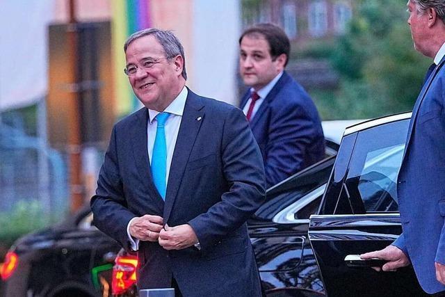 Unionsinterne Kritik an Laschet gefährdet eine Regierungsbeteiligung