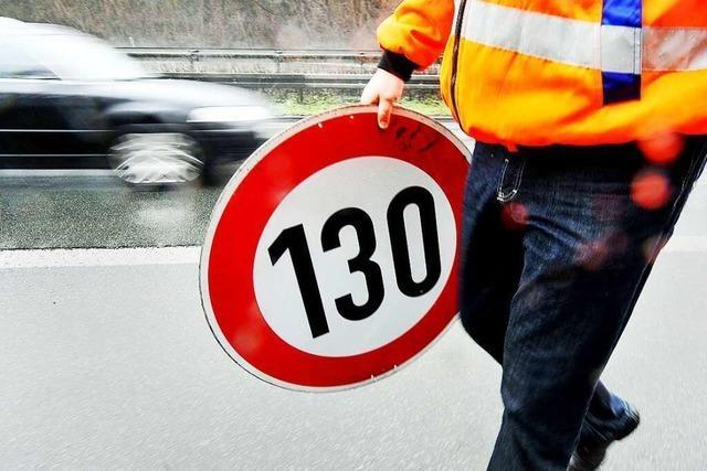 Minister Hermann: Tempo 130 wichtig für Sicherheit auf Autobahnen