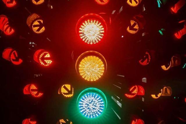 Die Deutschland-Ampel steht auf Rot-Grün-Gelb