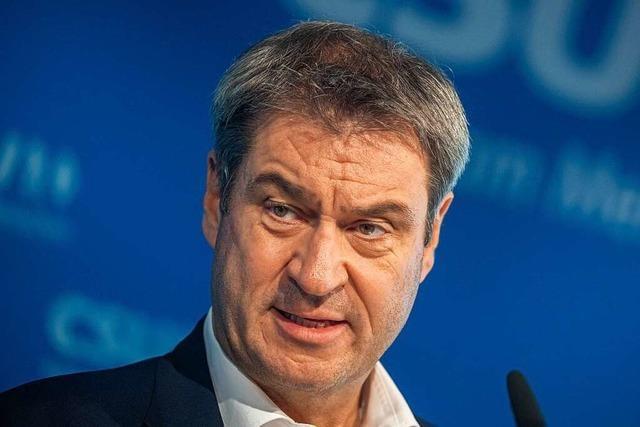 Markus Söder nimmt die Union de facto aus dem Spiel