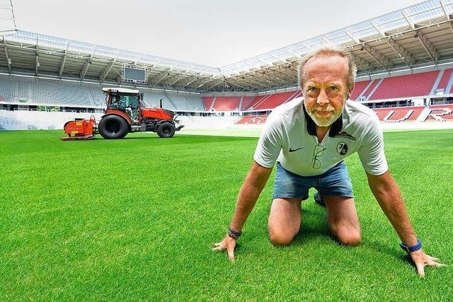 Der Mann für den SC-Rasen