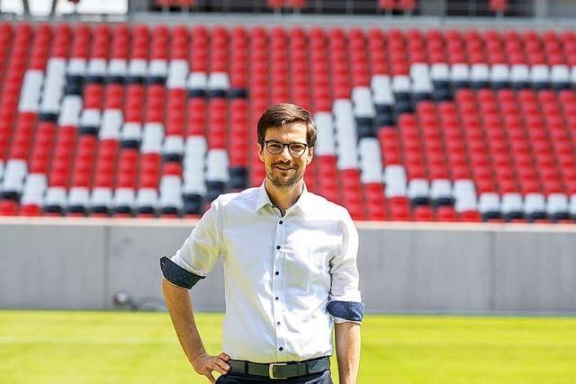 Freiburgs OB Martin Horn zum Stadion: