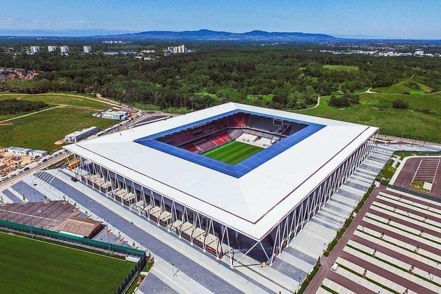 Das Europa-Park-Stadion: Eine Spielstätte, die zum SC Freiburg passt