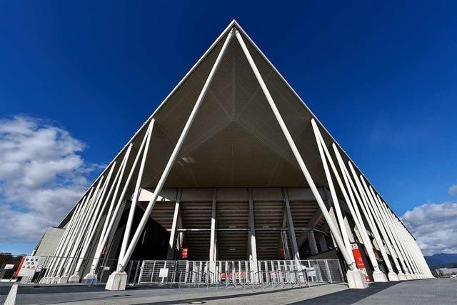 Das neue Stadion des SC Freiburg wirkt wie ein Tempel