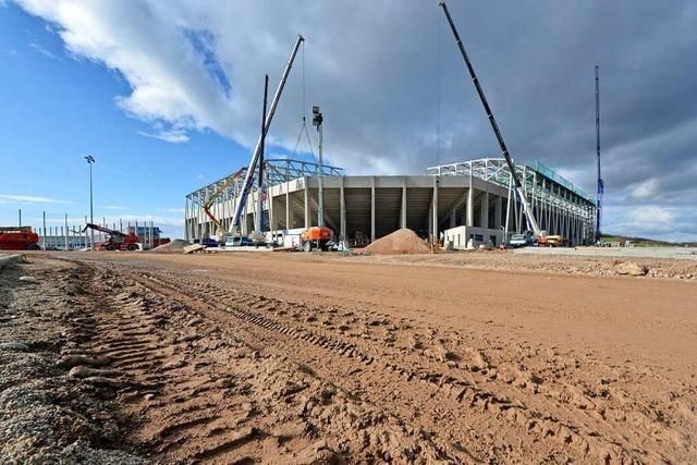 Der lange Weg vom Entwurf zum fertigen Europa-Park-Stadion