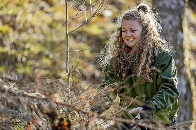 Mit der Axt in den Wald – und das im Urlaub