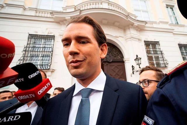 Österreichs Bundeskanzler Kurz steht wohl vor dem Aus