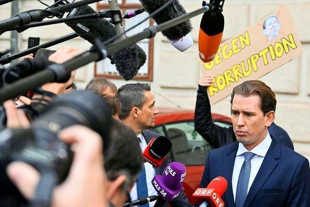 Österreichs Kanzler Kurz glaubte, er könne die Nation für dumm verkaufen