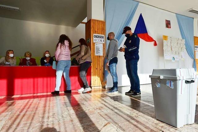 Teilergebnisse: Babis-Partei stärkste Kraft bei Wahl in Tschechien