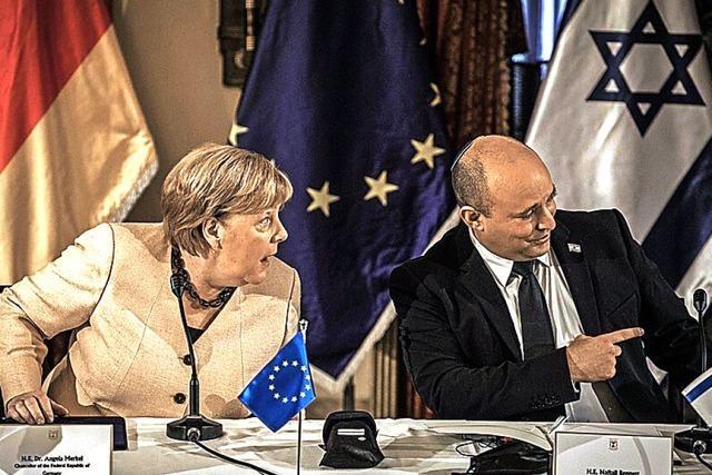 Merkel auf Abschiedsbesuch in Israel