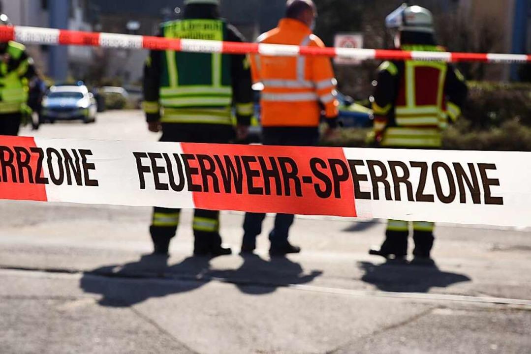 Einsatz für die Lörracher Feuerwehr am Montagabend (Symbolbild).    Foto: Jonas Hirt