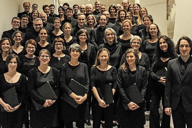 Konzerte des Freiburger Kammerchors am Wochenende in Freiburg-Landwasser und Malterdingen.