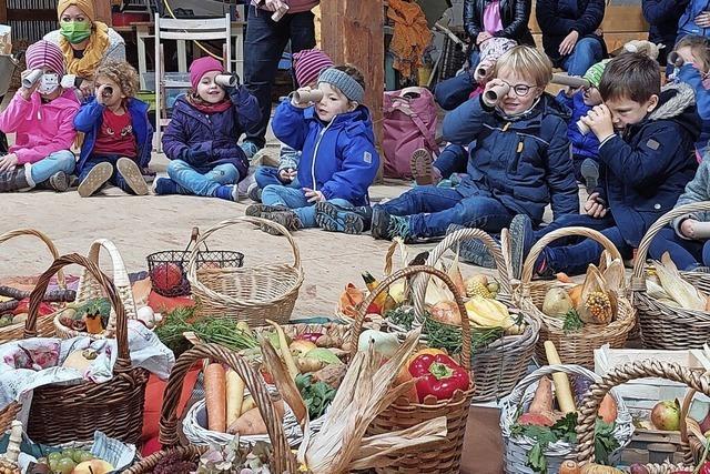 Kinder-Erntedank in Oberschopfheim