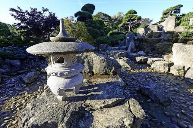 Herbststimmung im japanischen Garten