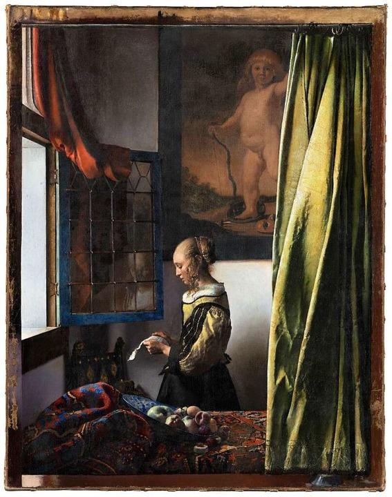 """Die Restaurierung legte einen überdime...offenen Fenster"""" (1657-59) frei.    Foto: Wolfgang Kreische / Gemäldegalerie Alte Meiser, Staatl. Kunstsammlungen Dresden"""