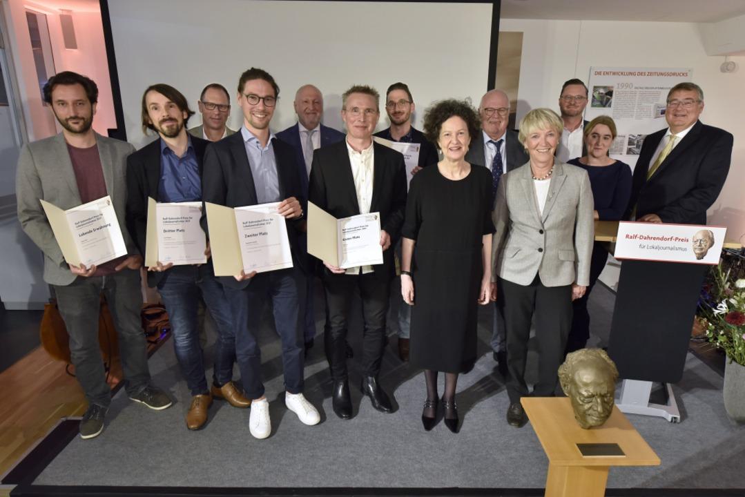 Stehen für Qualität im Journalismus: S...hrendorf-Preises für Lokaljournalismus    Foto: Thomas Kunz