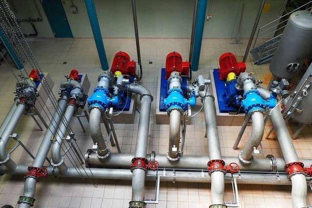 Wasserverband investiert 7,4 Millionen Euro für die Sicherung der Versorgung