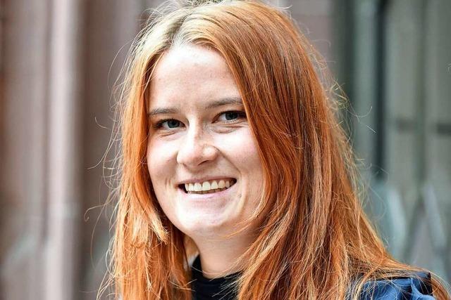 Die Freiburger Studentin Annika Kessel gehörte zum