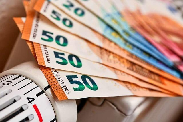 Das Heizen wird in diesem Winter bis zu 735 Euro teurer