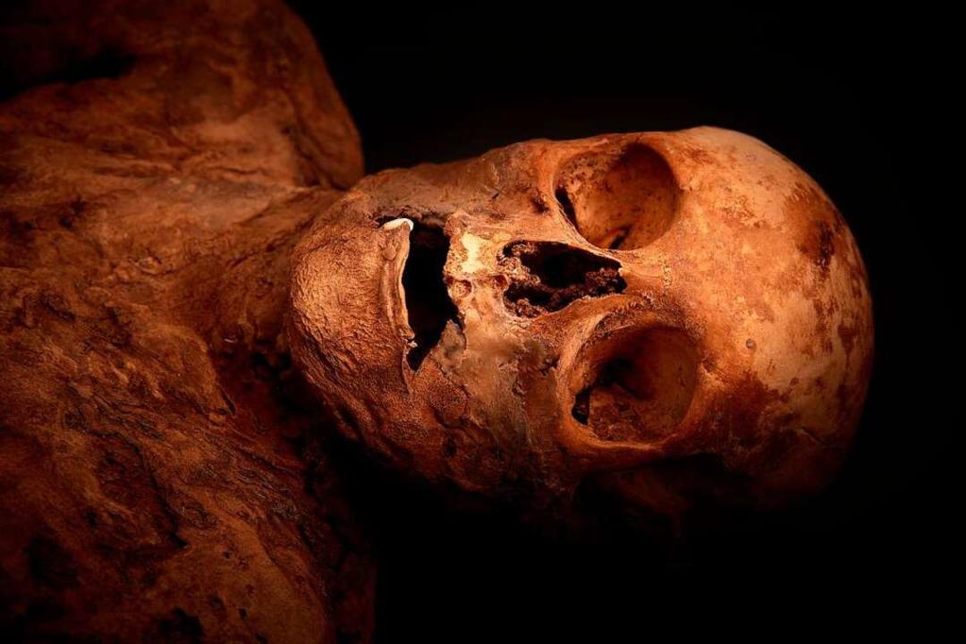 Die Mumie von Anna Catharina Bischoff  | Foto: Gregor Brändli
