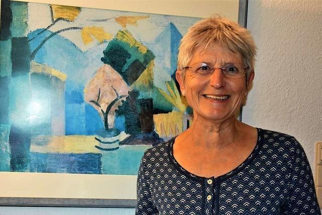 Anna-Dorothea Witte-Rotter ist neue Vorsitzende des Kunstvereins Gundelfingen