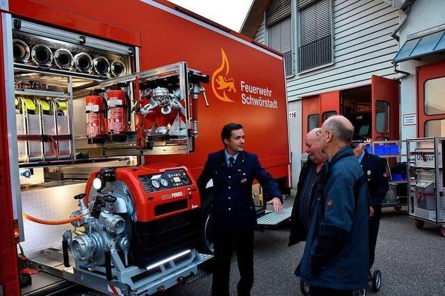 Die Feuerwehr Schwörstadt bekommt ein Fahrzeug für alle Notfälle
