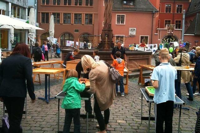 Aktionstag für die ganze Familie in der Freiburger Innenstadt