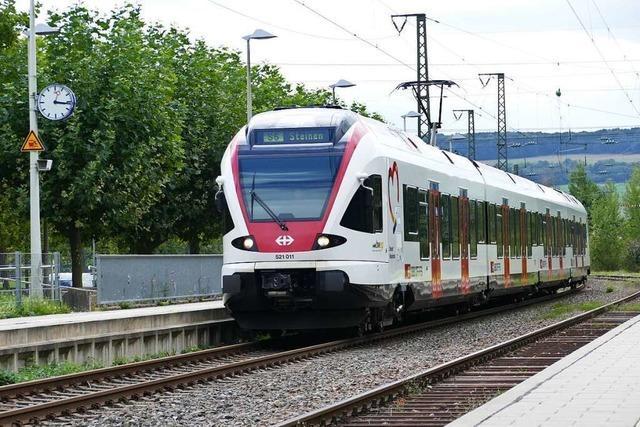 Die Bahn soll mit der Vorplanung für den Ausbau der Wiesentalbahn beginnen