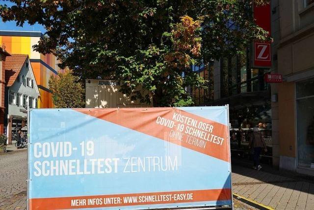 Fälschungen von Coronatests sind in Offenburg bereits im Umlauf