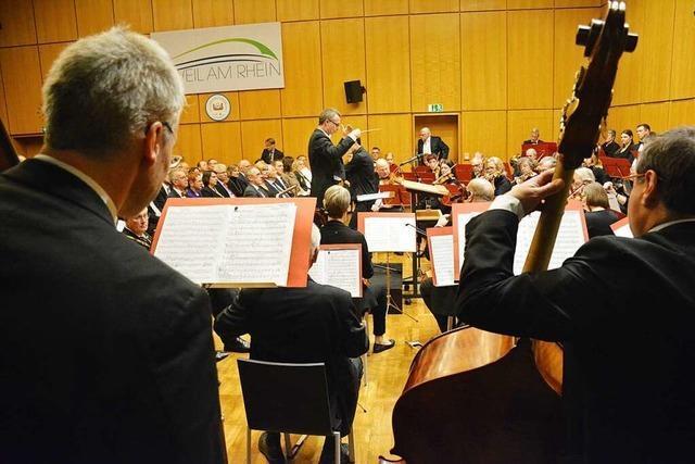 Orchestergesellschaft Weil am Rhein vereint Musiker aus drei Ländern