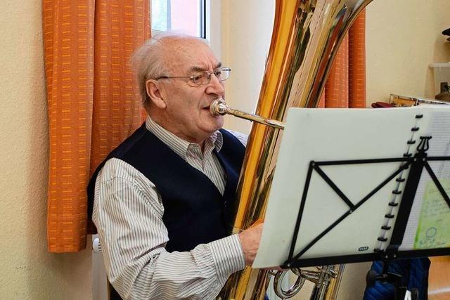 Emil Spengler aus Ettenheim verrät wie es ist, seit 70 Jahren Musik zu machen