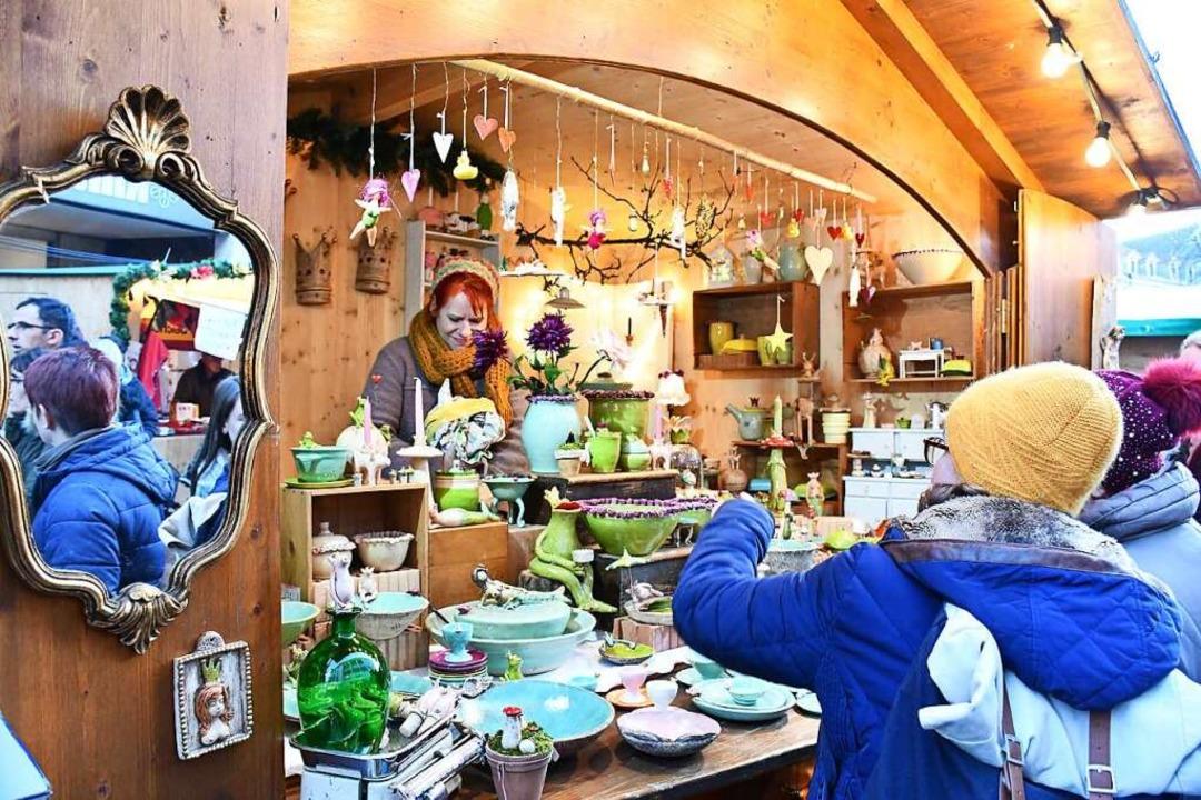 Der Weihnachtsmarkt 2021 wird als  Händlermarkt konzipiert.  | Foto: Barbara Ruda