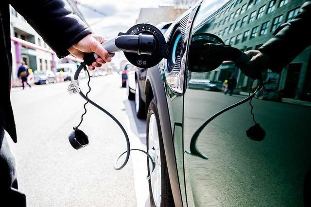 Eines von 100 Autos im Ortenaukreis fährt rein elektrisch