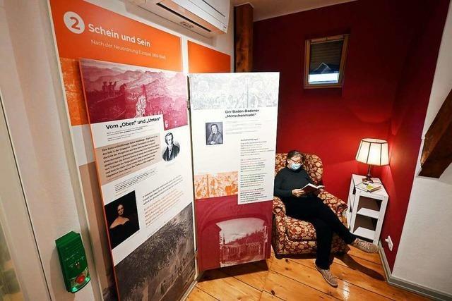 In Baden-Baden gibt es jetzt ein Muße-Literaturmuseum