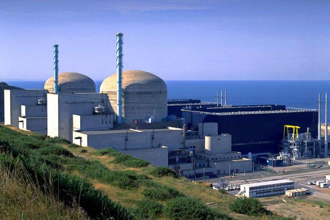 Frankreich setzt im Gegensatz zu Deuts...8211; hier der Reaktor in Flamanville.    Foto: Pierre Berenger